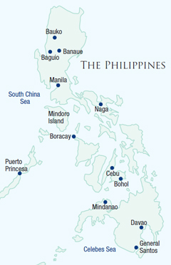 Map of The Philippines